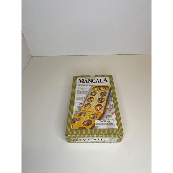 Target 087 10 1132 Mancala Solid Wood Folding Game